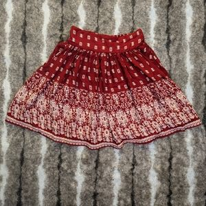 JAPNA Pattern Tribal Print Skirt
